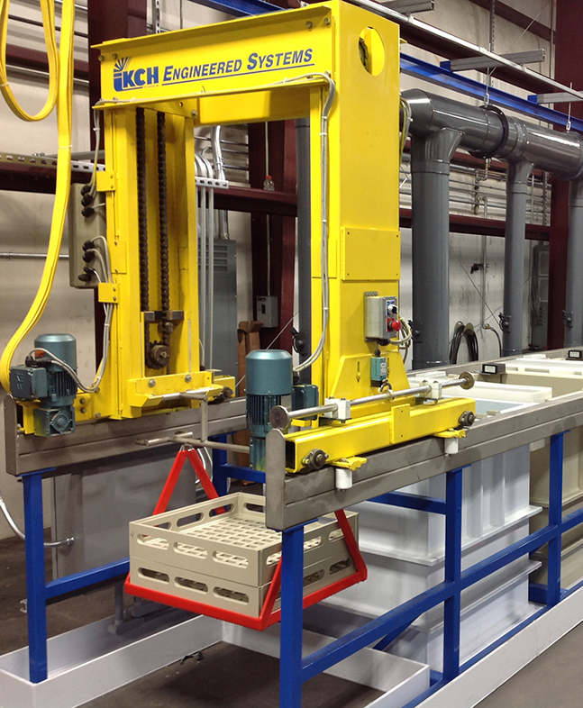 Automated Acid Stripping Line